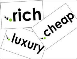 Domini per tutte le tasche con .rich, .cheap e .luxury!